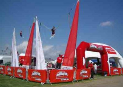 Jumpzone Bungy Trampoline Corporate events